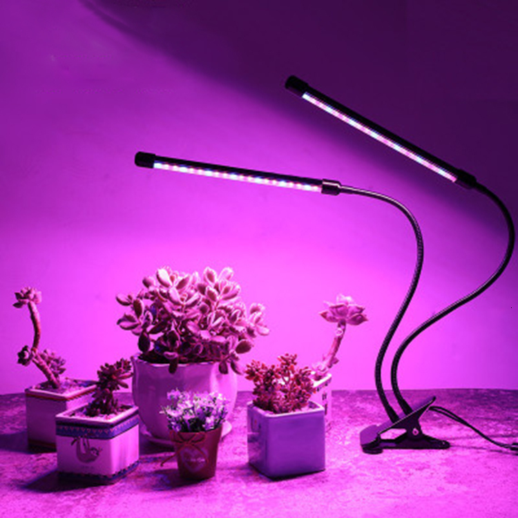Durable Indoor Plant Growth Lamp 18w Led Clip Grow Light