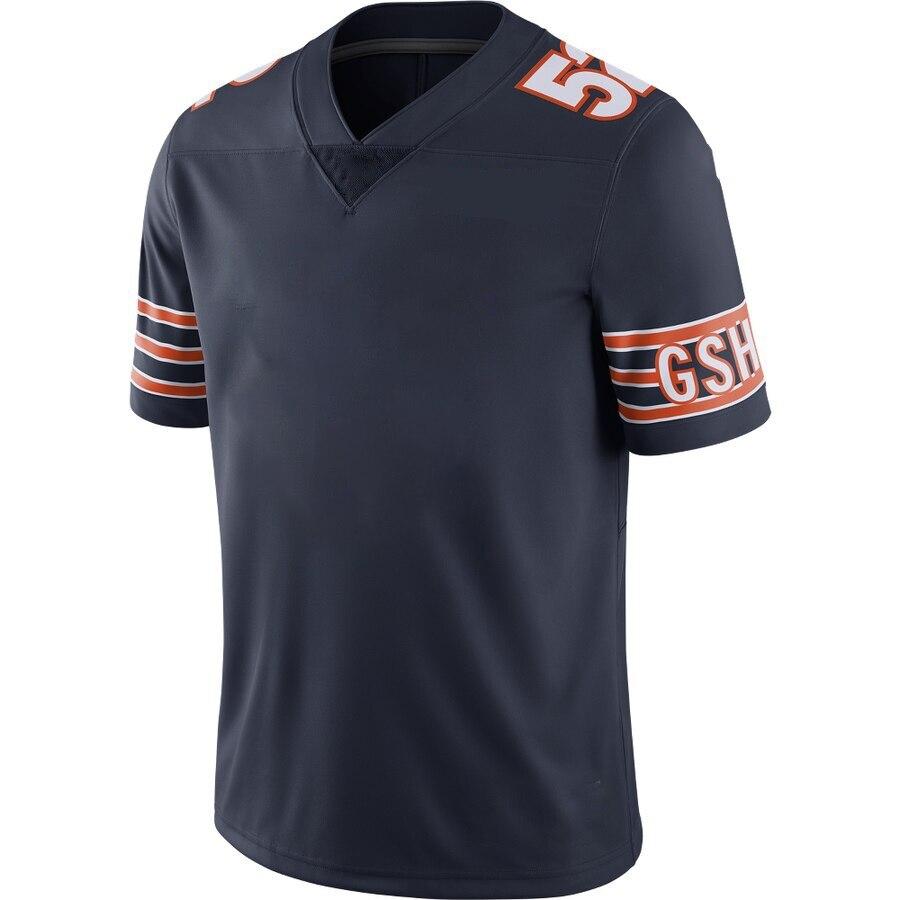 Color Mens 2020 New American Football Chicago Sport Fans Wear Khalil Mack Walter Payton Brian Urlacher Mitchell Trubisky Jerseys