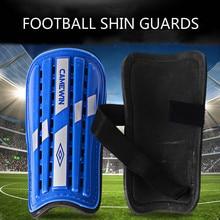 цена на 1 Pair Football Shin Guards Sports Calf Leg Protector Soft EVA Foam Soccer Shin Pads For Kids Adults dropshipping