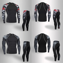 2019 Sport Suit Men Sports Suits Quick Dry Loose Fitness Running Tracksuits Summer Autumn Warm Jogging Tracksuit Set
