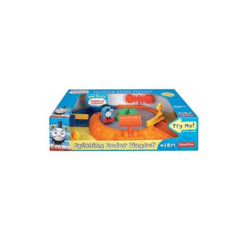 Thomas Spinning Sodor Set Fisher Price V Toy Store