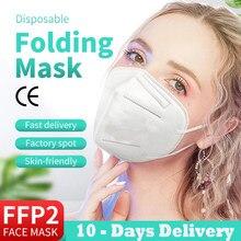 100PCS kn95 mascarillas ffp2reutilizable masks ffp2kn95 ffp2 mascarilla certificadas mask kn 95 ffp2mask ce fpp2 mascherine
