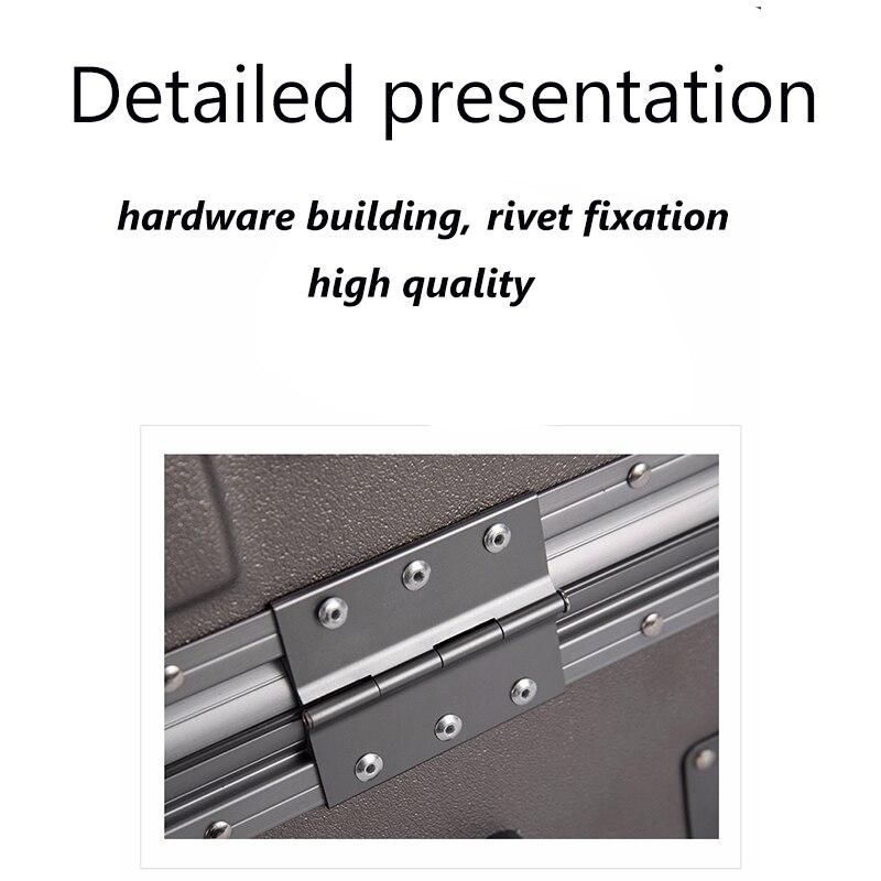 Made in China stile Semplice 100% di alluminio frame20/24 inch formato di alta qualità Trolley Spinner marca Valigia di Viaggio - 4