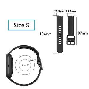 Image 5 - solid color Wristband for Fitbit versa 2 /versa lite smart watch accessories band adjustable strap soft waterproof bracelet belt