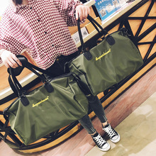 Women's Short Trip Travel Mountaineering Bag Korean-style Large-Volume Oxford Cloth Hand Luggage Gym Sports