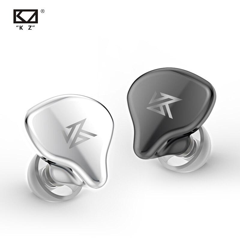 AK KZ S1 S1D TWS True Wireless écouteurs KZ Bluetooth 5.0 écouteur 1BA + 1DD hybride Portable HIFI stéréo Sport casque bruit annuler