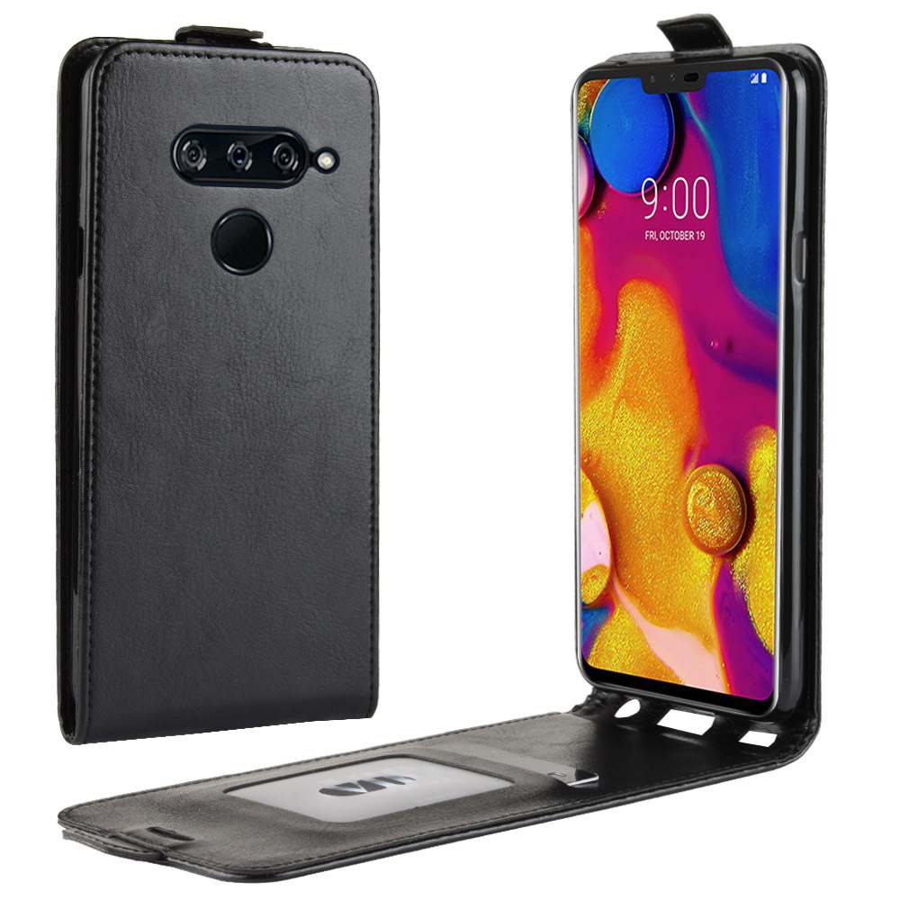 Vertical Leather Flip Case For LG G7 Q8 Q7 W30 W10 Stylo 5 4 Wallet Cover For LG G8 V50 V40 Thinq V30 K50 K40 K10 K8 Phone Case