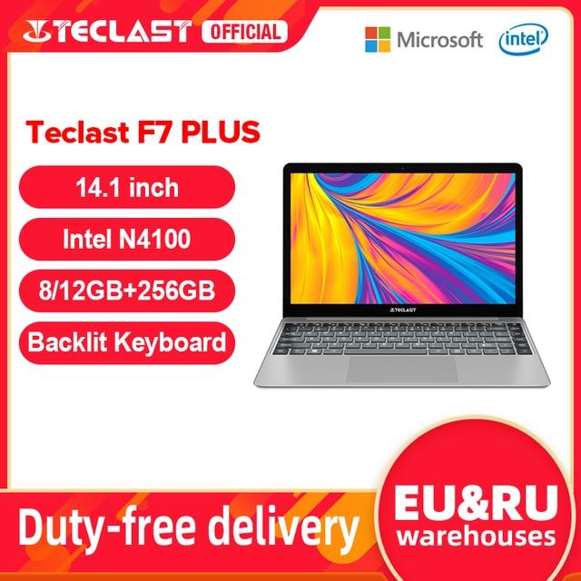 """Teclast F7 Plus 14.1"""" 8GB/12GB RAM 256GB SSD Laptop FHD 1920 x 1080 Intel Gemini Lake N4100 Windows 10 Backlit Keyboard Notebook 1"""