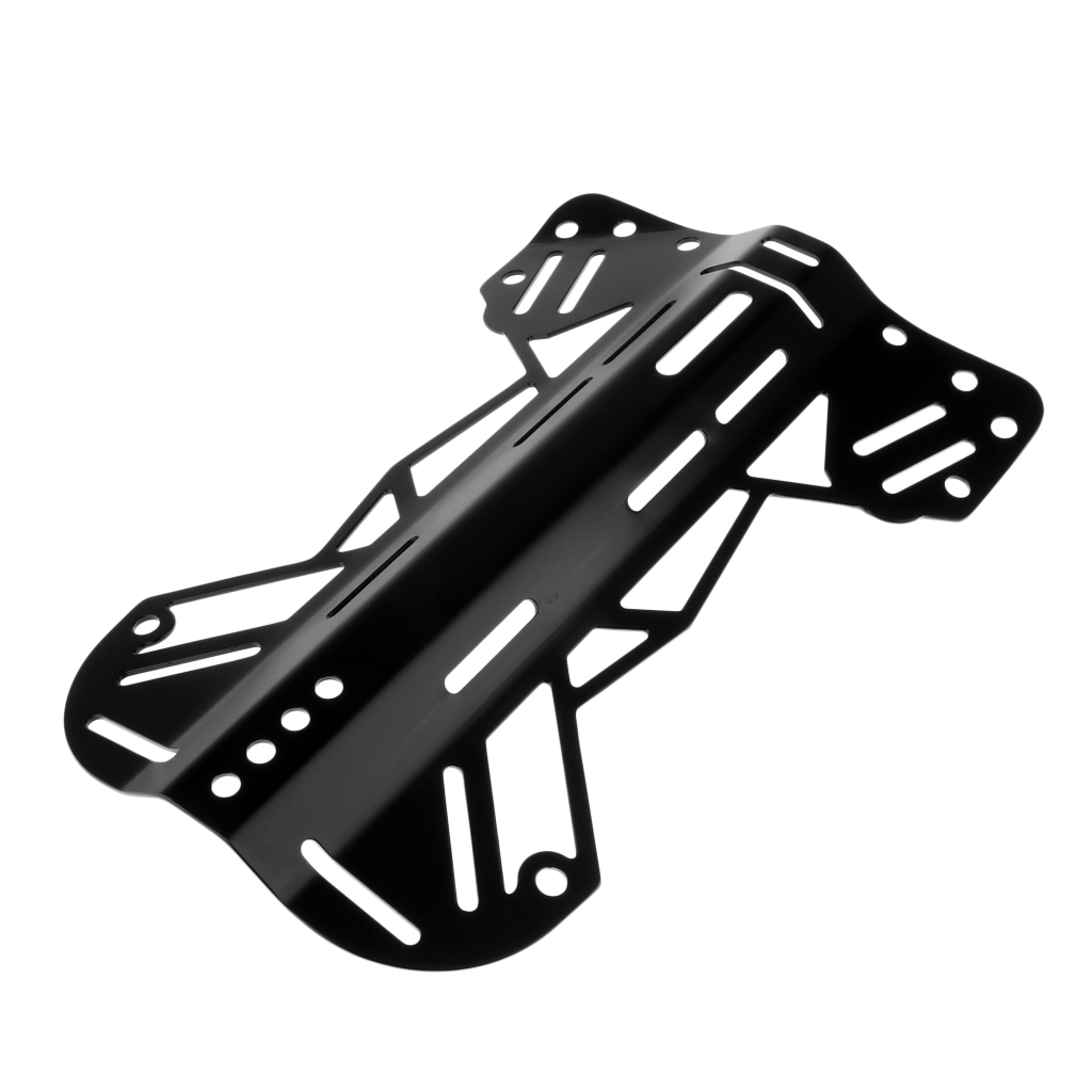 Aluminum Scuba Dive Backplate Technical Diving BCD Plate Back Harness Hardware For Lift Bag