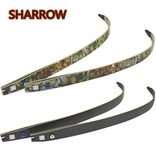 30-55lbs Archery ILF Recurve Bow Limbs 64 Takedown F166 Camo Limb Outdoor Shooting Competition Game Accessories