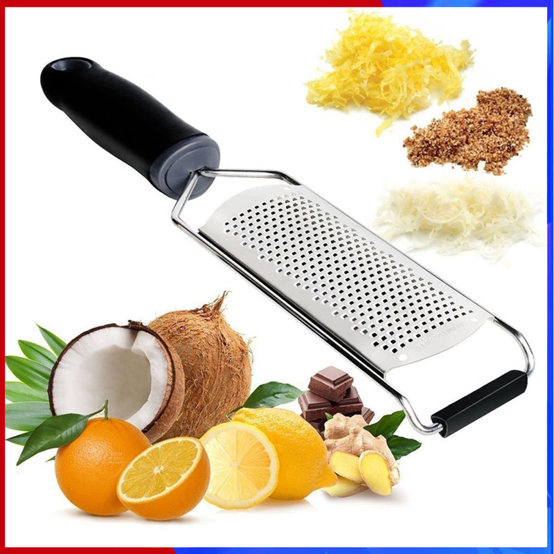 Zester-Tool Grater Potato-Ginger Cleaning-Brush Citrus Stainless-Steel with Blade And