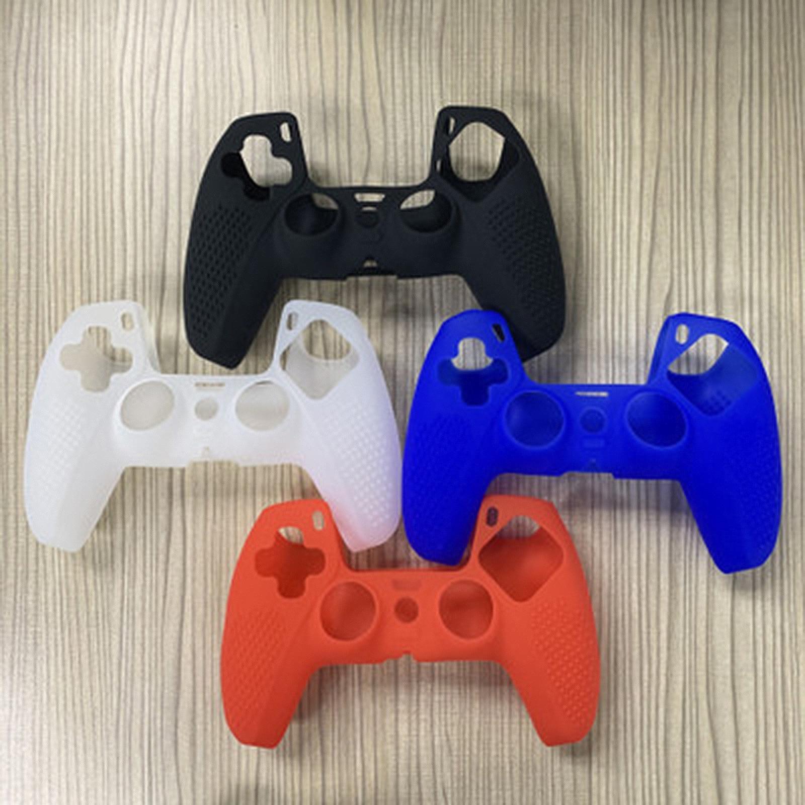 Разноцветный силиконовый защитный чехол для геймпада джойстик