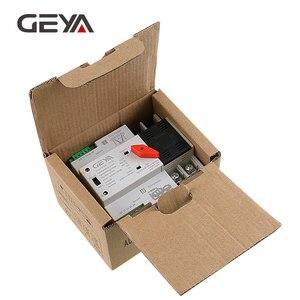 Image 5 - Geya dinレール 220v 2 ポールats電源自動転送スイッチ 63A 100A 50/60 50hzのパソコングレードatse