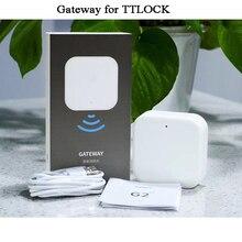 Wifi ağ geçidi akıllı kapı kilidi Bluetooth TTlock bir zaman kodu telefon uzaktan kumandası ofis/atölye kilidi