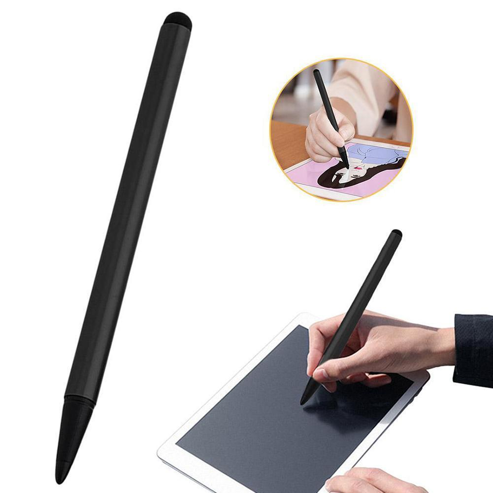 Active Capacitive Stylus Pen For iPad Mini iPhone 12cm Pencil Fine Samsung Screen Point Huawei Touchscreen Pen For Android J6M1