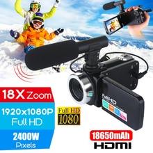 Professional 4K HD Camera Camcorder Video Camcorder 24MP 3 I