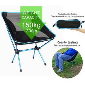 Image 1 - Travel Ultralight Folding Chair Superhard High Load Outdoor Camping Chair Portable Beach Hiking Picnic Seat Fishing Tools Chair