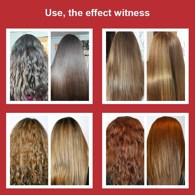 Купить с кэшбэком High Quality 300ml Brazilian Keratin Treatment Free Formaldehyde Hair Product For Straightening Repairing Hair Free Shipping