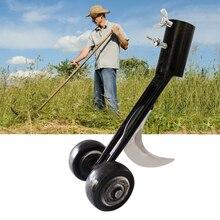 Weeds Snatcher Lawn Mower Weeding Head Steel Garden Weed Razors Lawn Mower Garden Grass Trimming Machine Brush Cutter Hand Tools
