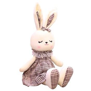 Super Sofe 45cm/70cm/90CM Cute Plush Toy Rabbit Doll Rabbit Baby Gift Soft Kawaii Stuffed Plush Bunny Christmas Gift Plush Baby 70cm 50cm 30cm cute rabbit plush toys bunny stuffed plush toy cute pillow for baby sleeping gift