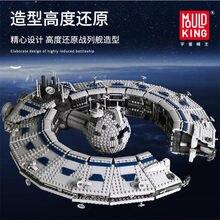 MOC The Destroyer Lucrehulk Class Battleship Droid Control Ship Building Block Bricks Kids DIY Educational Toys Gift