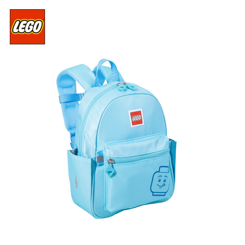Lego LEGO New Style CHILDREN'S School Bags Macarons Backpack 312-Year-Old GIRL'S And BOY'S Spine-Backpack
