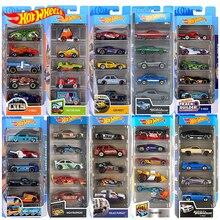 Hot Wheels – voiture de sport en métal moulé sous pression, 5 pièces, 1:64, jouet pour enfants, Mini garçon