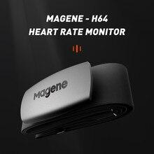 Magene mover h64 sensor de freqüência cardíaca duplo modo formiga + & bluetooth com cinta no peito ciclismo computador bicicleta wahoo garmin monitor de esportes