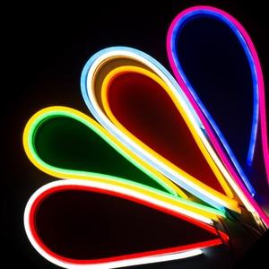 Image 2 - Neon LED Strip Light Flexible neon DC 12V IP67 waterproof Pink ice blue orange White red green