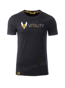 New vitality team uniform France Bee ZYWOOcompetition short-sleeved Tees vitality team player jersey men's and women's tops 2021