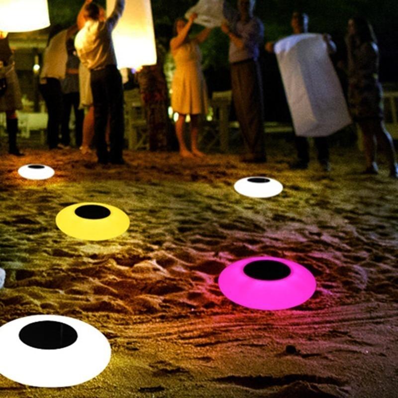 luz conduzida solar outdoorpool lightled colorido inflavel 04