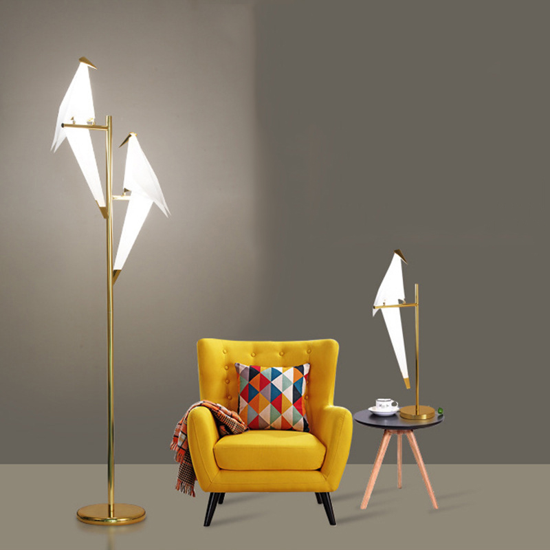 Nordic Bird Floor Lamp For Living room Free Shipping