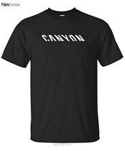 Camiseta com logotipo para bicicletas canyon, camiseta de fábrica para mtb, harajuku, streetwear, masculina, s 3xl