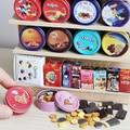 1/12 skala Dollhouse Miniatur Cookies Mini Schokolade Snacks Pretend Spielen Lebensmittel für Puppe Haus Küche Spielzeug Zubehör