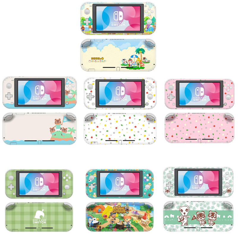 Vinyl Screen Skin Animal Crossing Protective Stickers For Nintendo Switch Lite Mini Nx For Nintend Switch Lite Sticker Protector
