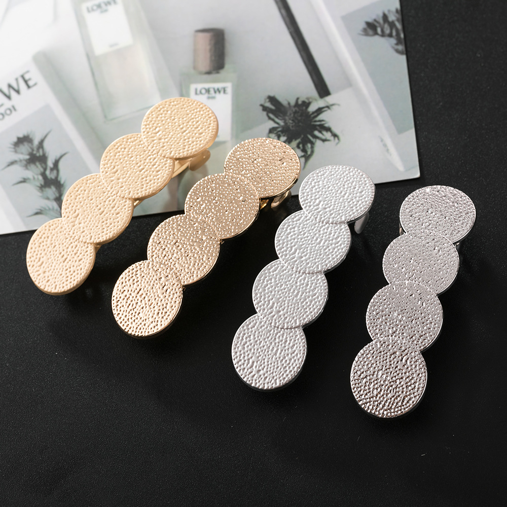 2019 new Golden Coin Hair Clips for women wholesale Hair Accessories Elegant Hairpins Barrettes   headwear