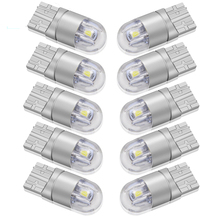 10pcs Signal Lamp 3030 T10 Led Car Bulb W5W 194 168 Lamps For Cars White 5W5 Clearance Backup Reverse Light 12V