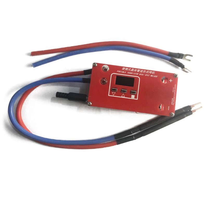 Portable Mini Spot Welder Machine Various 18650 Battery Welding Power Supplies For Super Capcitor  DIY