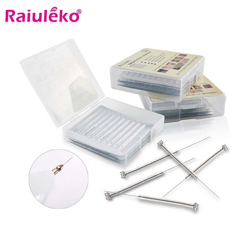 100PCS Plasma Pen Needle Micro Removal Mole Pen Point Mole Needle Sweep Spot Wash Eyebrow Tattoo Laser Point Tattoo Fine Needles