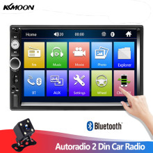 "Autoradio 2 Din Car Radio 7"" Touch Screen Dash MP5 Bluetooth USB Car Digital 2Din Multimedia Player Rear View Camera(China)"