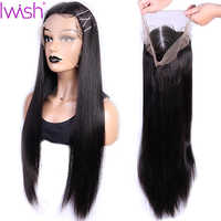 13x4 Straight lace front wig peruvian wig natural hair Remy Glueless Lace Front Human Hair Wigs With Baby Hair Pre Pluck 150