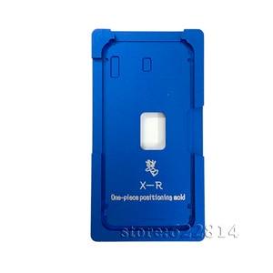 Image 4 - ガラスとフレームocaラミネート金型ゴムマットiphonexためxs/ xr/xsmaxフレームポジショニング型液晶画面アライメント樹脂