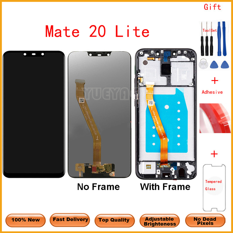 Tested LCD Display For Huawei Mate 20 lite LCD For Huawei mate 20 lite Display LCD Screen Touch Digitizer Assembly|Mobile Phone LCD Screens|   - AliExpress