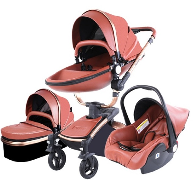 Strollers Baby 3 in 1 Newborn  4