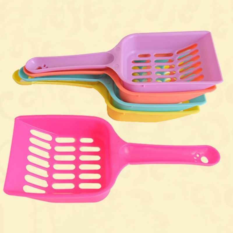 Nuttig Kattenbakvulling Schop Huisdier Cleanning Tool Plastic Scoop Kat Zand Schoonmaakmiddelen Wc Voor Hondenvoer Lepels