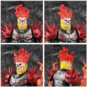 """Image 5 - Original ML Legends Cosmic Ghost Rider 6"""" Action Figure Fire Whip Without Motorbike From Vehicle Set Riders Series Toys Doll"""