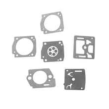 цена на 6 Pcs Carburettor Carb Diaphragm Repair Gasket For Zama EL53A Carburetor Tools Replacement Accessories
