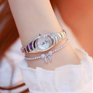 Image 3 - 여자의 시계 2020 뜨거운 판매 럭셔리 시계 석영 작은 다이얼 숙녀 로즈 골드 시계 여성 패션 시계 여성 시계