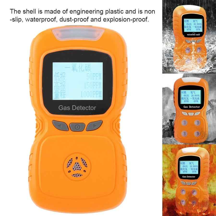 Портативный цифровой дисплей CO детектор угарного газа метр тестер цифровой дисплей детектор угарного газа