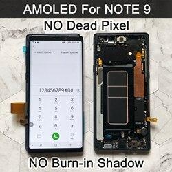 Оригинальный AMOLED ЖК-дисплей 6,4 дюйма для SAMSUNG GALAXY Note 9, ЖК-дисплей для Note9 N960F N9600 N960N, сенсорный экран с дигитайзером в сборе, ЖК-дисплей
